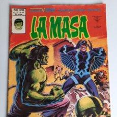 Cómics: HULK (1975, VERTICE) -LA MASA- 37 · XII-1979 · ¡EL HOMBRE-BRUTO EN EL PAIS ESCONDIDO!. Lote 207789581