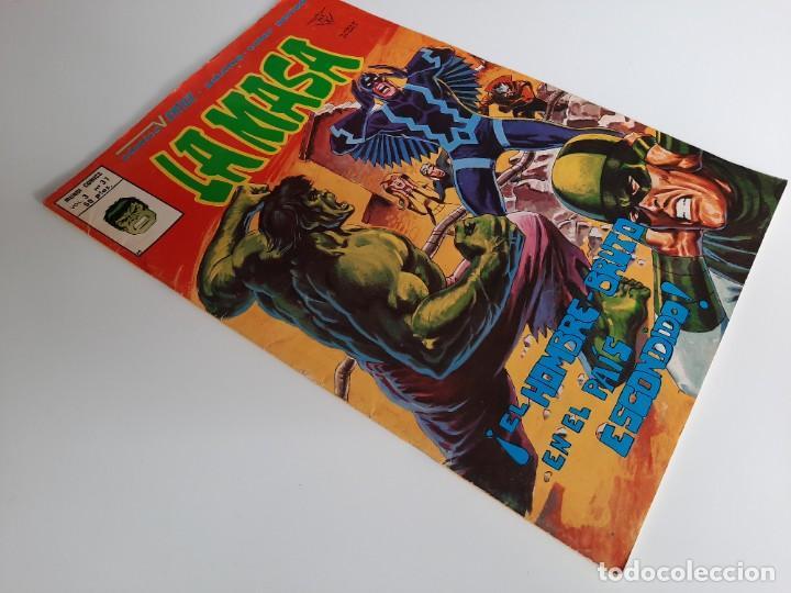 Cómics: HULK (1975, VERTICE) -LA MASA- 37 · XII-1979 · ¡EL HOMBRE-BRUTO EN EL PAIS ESCONDIDO! - Foto 3 - 207789581