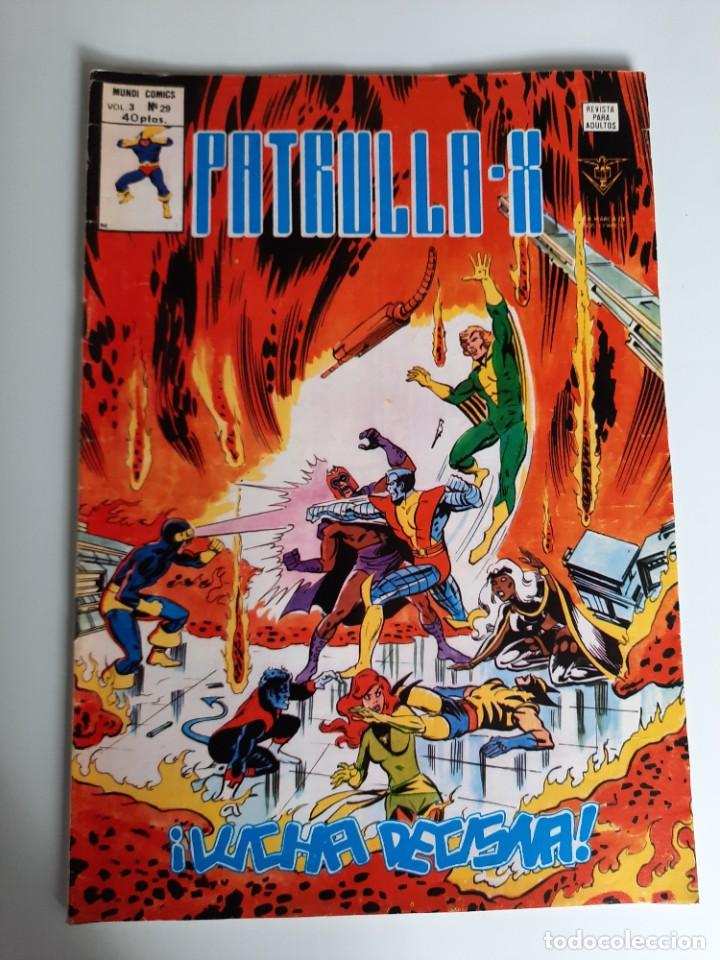 PATRULLA X (1976, VERTICE) 29 · VII-1979 · ¡LUCHA DECISIVA! (Tebeos y Comics - Vértice - Patrulla X)