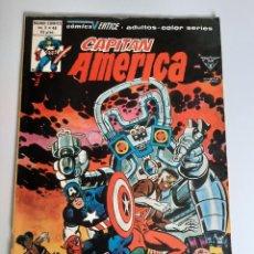 Cómics: CAPITAN AMERICA (1975, VERTICE) 46 · XII-1980 · ¡SOMBRA NOCTURNA ES MAS MORTAL LA SEGUNDA VEZ!. Lote 207815590