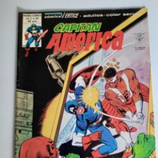 Cómics: CAPITAN AMERICA (1975, VERTICE) 44 · X-1980 · ¡JAULA MENTAL!. Lote 207815833