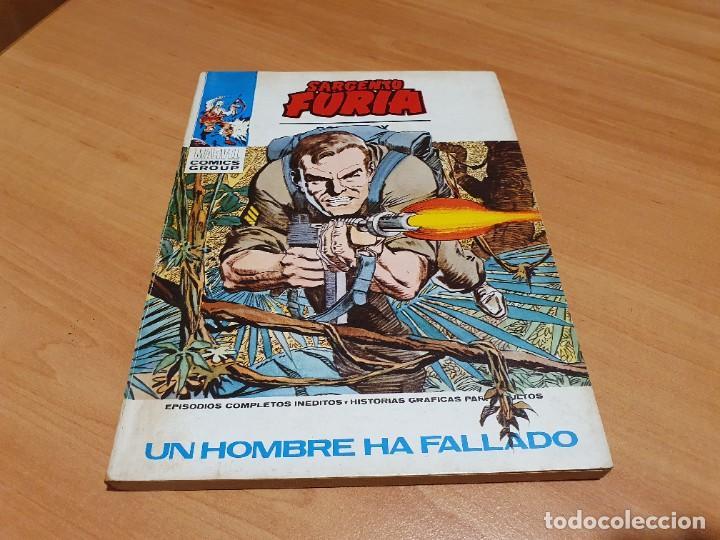 SARGENTO FURIA V.1 Nº 11 MUY BUEN ESTADO (Tebeos y Comics - Vértice - Furia)
