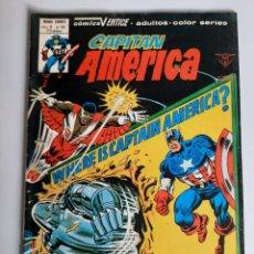 Cómics: CAPITAN AMERICA (1975, VERTICE) 40 · III-1980 · ¿HALCON DERROTADO?. Lote 207823203
