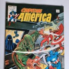 Cómics: CAPITAN AMERICA (1975, VERTICE) 38 · I-1980 · CREE O NO CREE EN BANSHEE. Lote 207823575