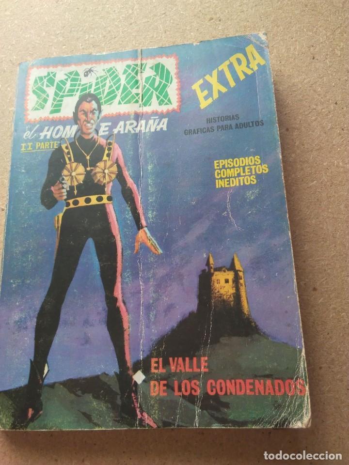 SPIDER EXTRA. EL HOMBRE ARAÑA 2A PARTE. EL VALLE DE LOS CONDENADOS (Tebeos y Comics - Vértice - Super Héroes)