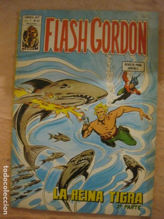 FLASH GORDON VOL. 1 Nº 42. EDICIONES VERTICE. (Tebeos y Comics - Vértice - Flash Gordon)