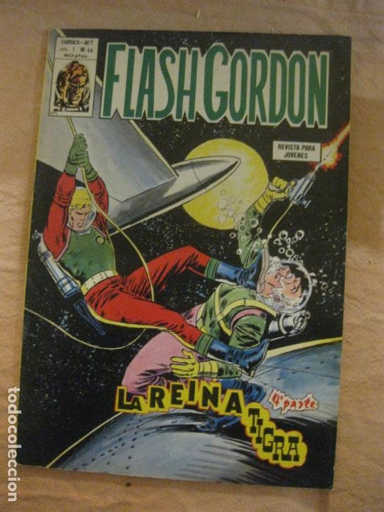 FLASH GORDON VOL. I Nº 44. EDICIONES VERTICE. (Tebeos y Comics - Vértice - Flash Gordon)
