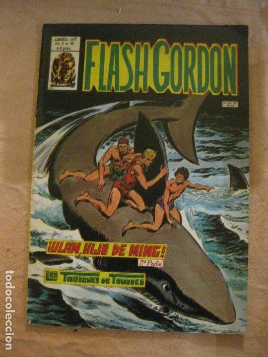 FLASH GORDON VOL. 2 Nº 38. EDICIONES VERTICE. (Tebeos y Comics - Vértice - Flash Gordon)