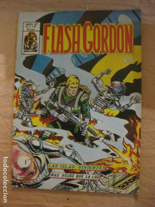 FLASH GORDON VOL. 2 Nº 39. EDICIONES VERTICE. (Tebeos y Comics - Vértice - Flash Gordon)