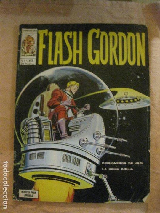 FLASH GORDON VOL. 1 Nº 5. EDICIONES VERTICE. (Tebeos y Comics - Vértice - Flash Gordon)