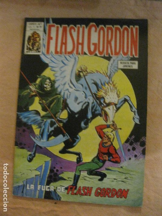 FLASH GORDON V. 1 Nº 38. EDICIONES VERTICE. (Tebeos y Comics - Vértice - Flash Gordon)
