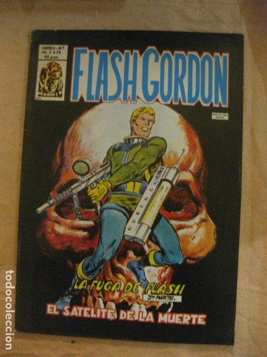 FLASH GORDON V. 2 Nº 36. EDICIONES VERTICE. (Tebeos y Comics - Vértice - Flash Gordon)