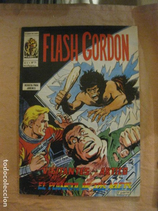 FLASH GORDON V. 1 Nº 34. EDICIONES VERTICE. (Tebeos y Comics - Vértice - Flash Gordon)