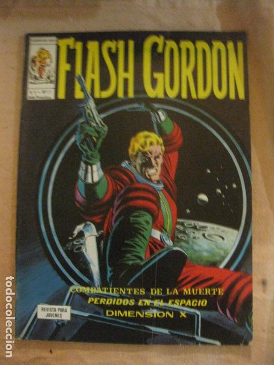 FLASH GORDON V. 1 Nº 22. EDICIONES VERTICE. (Tebeos y Comics - Vértice - Flash Gordon)