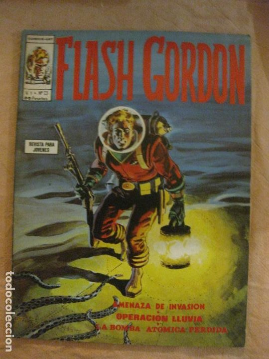 FLASH GORDON V. 1 Nº 23. EDICIONES VERTICE. (Tebeos y Comics - Vértice - Flash Gordon)