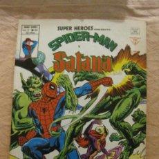 Cómics: SUPER HEROES SPIDER-MAN Y SATANA. VOL. 2 Nº 108. MUNDI COMICS. VERTICE. SPIDERMAN.. Lote 208017265