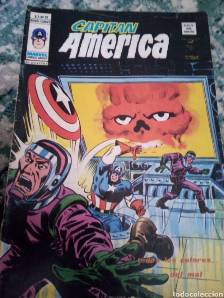 CAPITÁN AMÉRICA V.3 NÚM 23. VÉRTICE (Tebeos y Comics - Vértice - Capitán América)