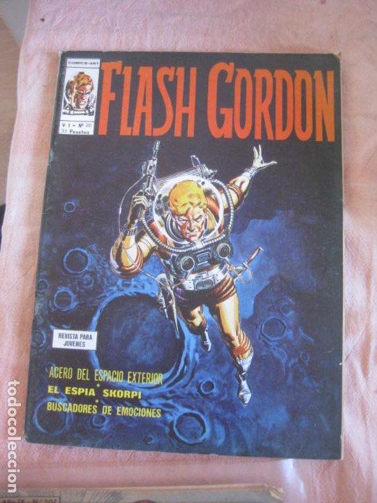 FLASH GORDON V. 1 Nº 20. EDICIONES VERTICE. (Tebeos y Comics - Vértice - Flash Gordon)