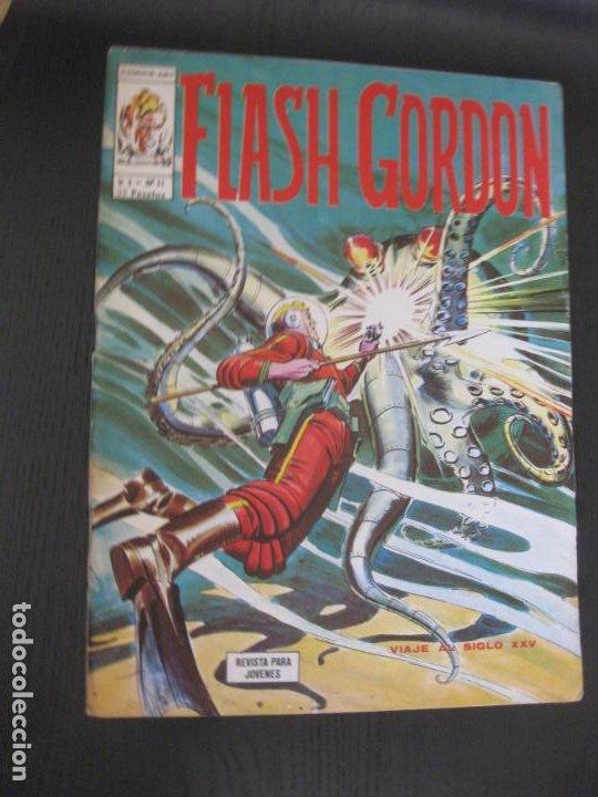 FLASH GORDON V.1 Nº 11. VERTICE. (Tebeos y Comics - Vértice - Flash Gordon)