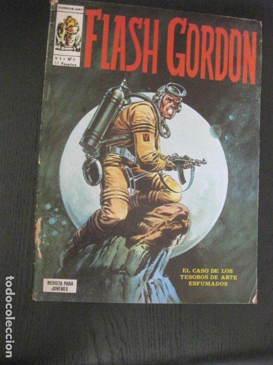 FLASH GORDON V.1 Nº 8. VERTICE. (Tebeos y Comics - Vértice - Flash Gordon)
