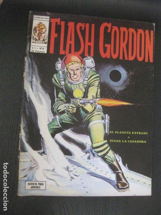 FLASH GORDON V.1 Nº 6. VERTICE. (Tebeos y Comics - Vértice - Flash Gordon)