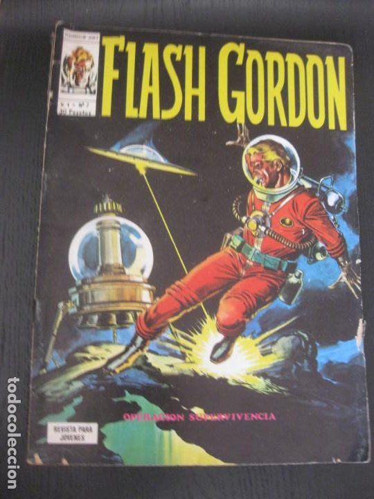 FLASH GORDON V.1 Nº 7 VERTICE. (Tebeos y Comics - Vértice - Flash Gordon)