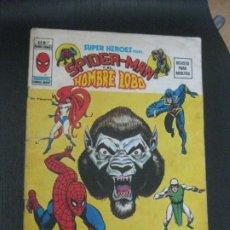Cómics: SUPER HEROES PRESENTA SPIDER-MAN Y EL HOMBRE LOBO. V.2 Nº 7. MUNDI COMICS VERTICE.. Lote 208118898
