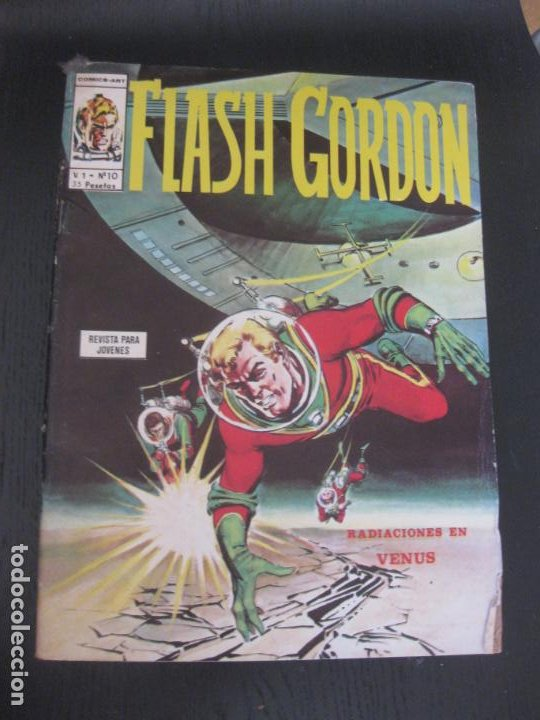 FLASCH GORDON. V.1 Nº 10. EDICIONES VERTICE. (Tebeos y Comics - Vértice - Flash Gordon)