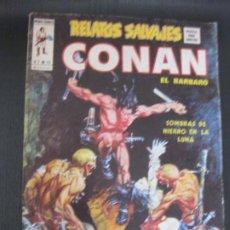 Cómics: RELATOS SALVAJES CONAN EL BARBARO. V.1 Nº 10. MUNDI COMICS VERTICE.. Lote 208119195