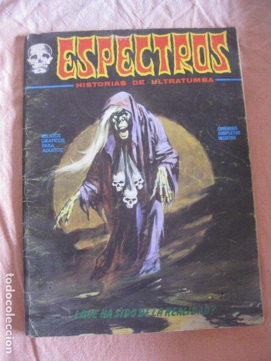 ESPECTROS HISTORIAS DE ULTRATUMBA. EDICIONES VERTICE. 1973. (Tebeos y Comics - Vértice - Terror)
