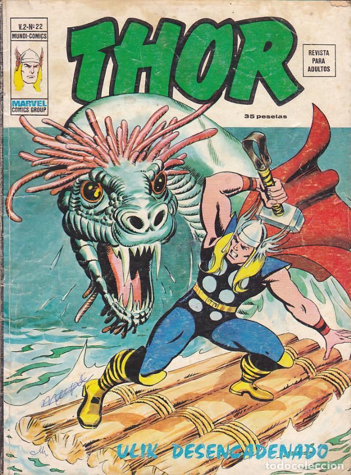 COMIC CCOLECCION THOR VOL.2 Nº 22 (Tebeos y Comics - Vértice - Thor)