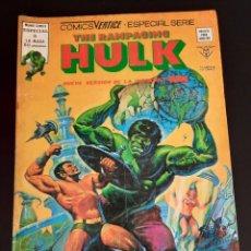 Cómics: HULK (1978, VERTICE) -RAMPAGING- 6 · III-1979 · Y TODO EL MAR, CON MONSTRUOS. Lote 208776123
