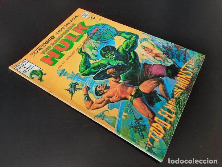 Cómics: HULK (1978, VERTICE) -RAMPAGING- 6 · III-1979 · Y TODO EL MAR, CON MONSTRUOS - Foto 3 - 208776123