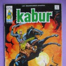 Cómics: KABUR Nº 1 VERTICE ¡¡¡BUEN ESTADO!!!. Lote 208780441