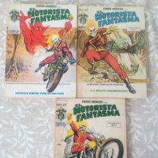 Cómics: SUPER HEROES PRESENTA EL MOTORISTA FANTASMA 4,7,8. Lote 208968725