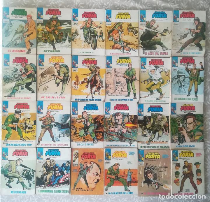 SARGENTO FURIA TACO 24 NUMEROS (Tebeos y Comics - Vértice - Furia)