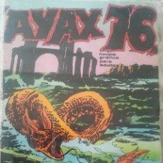 Cómics: AYAX 76 UNA AVENTURA EN EL 2001. Lote 208973065