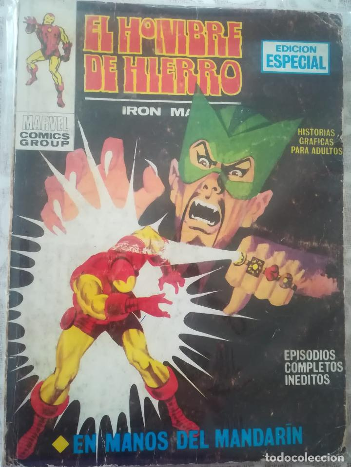 EL HOMBRE DE HIERRO 4 (Tebeos y Comics - Vértice - Hombre de Hierro)