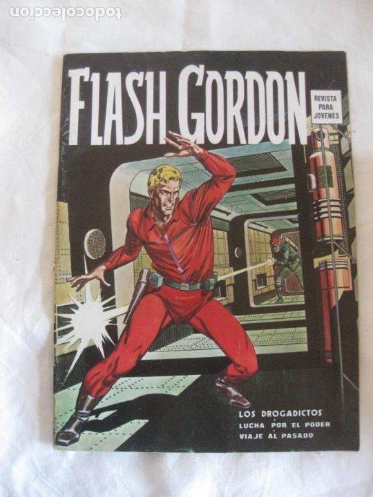 FLASH GORDON SIN NUMERAR. LOS DROGADICTOS. EDICIONES VERTICE 1974. (Tebeos y Comics - Vértice - Flash Gordon)