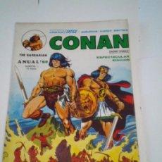 Cómics: CONAN THE BARBARIAN - ANUAL 80 - NUMERO 1 - MUY BUEN ESTADO - VERTICE - GORBAUD - CJ 107. Lote 209613720