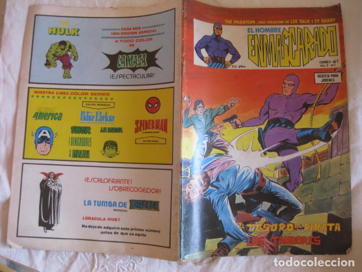 EL HOMBRE ENMASCARADO. COMICS - ART VOL. 2 Nº 1. EDICIONES VERTICE 1979 (Tebeos y Comics - Vértice - Hombre Enmascarado)