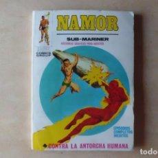 Cómics: NAMOR CONTRA LA ANTORCHA HUMANA, NUEVO, 1.972 TACO. Lote 209772596