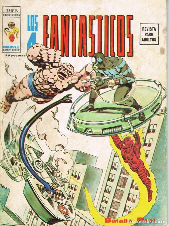 LOS 4 FANTASTICOS VOLUMEN 2 NUMERO 10 BATALLA REAL (Tebeos y Comics - Vértice - 4 Fantásticos)