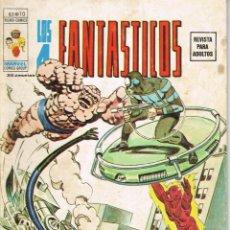 Cómics: LOS 4 FANTASTICOS VOLUMEN 2 NUMERO 10 BATALLA REAL. Lote 209919628