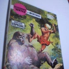 Cómics: SELECCIONES VÉRTICE DE AVENTURAS. EL REY DE LA JUNGLA Nº 25 1969 128 PÁG B/N (BUEN ESTADO). Lote 209920156