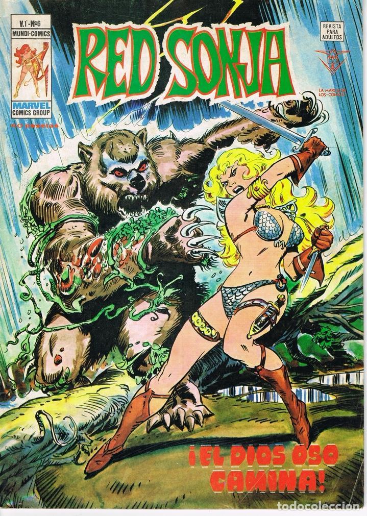 RED SONJA VOLUMEN 1 NUMERO 6 EL DIOS OSO CAMINA (Tebeos y Comics - Vértice - Surco / Mundi-Comic)