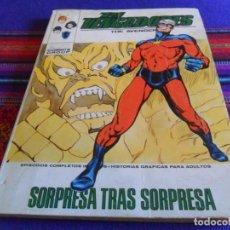 Cómics: VÉRTICE VOL. 1 LOS VENGADORES Nº 43. 1972. 25 PTS. SORPRESA TRAS SORPRESA.. Lote 210116493