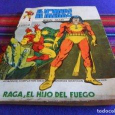 Cómics: VÉRTICE VOL. 1 EL HOMBRE DE HIERRO Nº 27. 1973. 25 PTS. RAGA, EL HIJO DEL FUEGO.. Lote 210117148