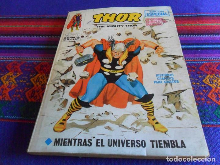 VÉRTICE VOL. 1 THOR Nº 18. 1972. 25 PTS. MIENTRAS EL UNIVERSO TIEMBLA. (Tebeos y Comics - Vértice - Thor)