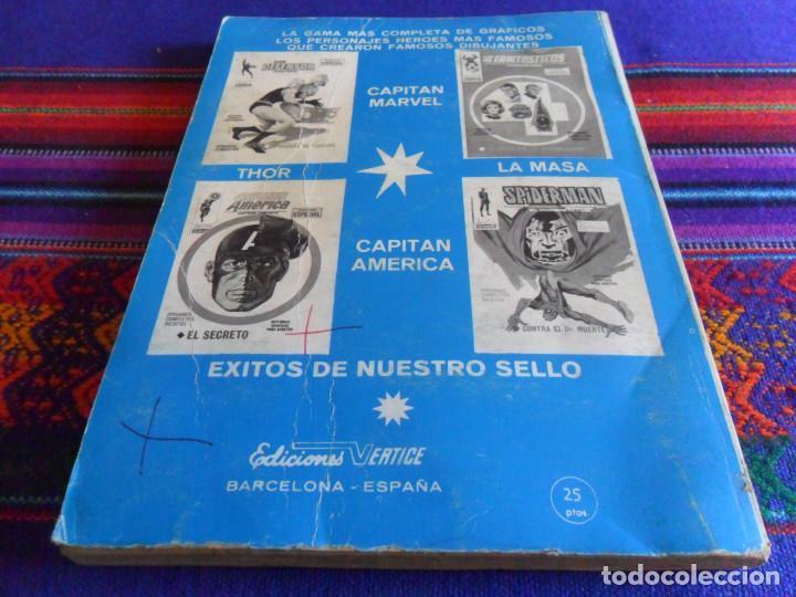 Cómics: VÉRTICE VOL. 1 THOR Nº 18. 1972. 25 PTS. MIENTRAS EL UNIVERSO TIEMBLA. - Foto 3 - 210118105